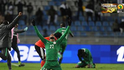 CHAN 2018: Nigeria, Libya fight hard to make it to the semis