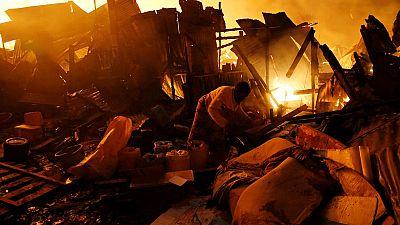 Kenya : trois morts dans l'incendie d'un bidonville à Nairobi