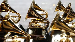 Grammys honour Hugh Masekela as Rihanna dances 'gwara gwara'