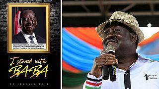 Tension in Kenya ahead of Odinga's banned inauguration