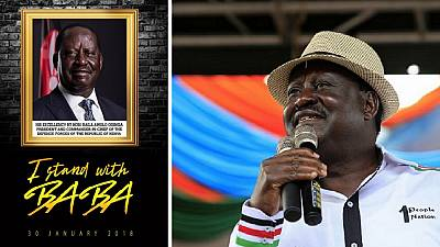 Tension in Kenya ahead of Odinga's banned inauguration
