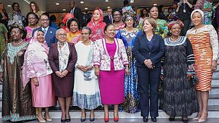 [Photos] African First Ladies talk HIV on sidelines of 30th A.U. summit