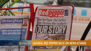 Uganda's 'Red Pepper' newspaper back on stands [The Morning Call]