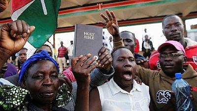 Media shutdown as Kenyans await Odinga 'swearing in'