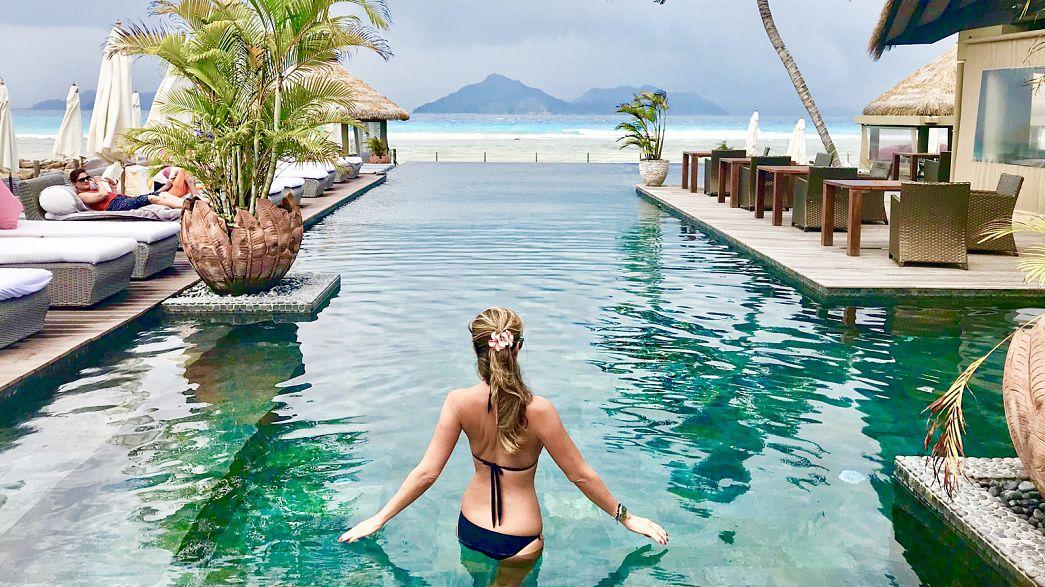 Half a day in La Digue, Seychelles