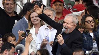 Image: FILE: Former President Of Brazil 'Lula' Da Silva Is Released From Pr