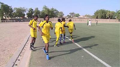 Tchad : premier tournoi de football féminin ''Jouer pour le développement''