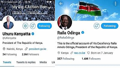 Kenya : la situation de « deux présidents » fait réagir sur la toile