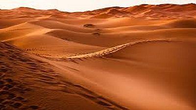 Des chutes de neiges inhabituelles dans le désert marocain