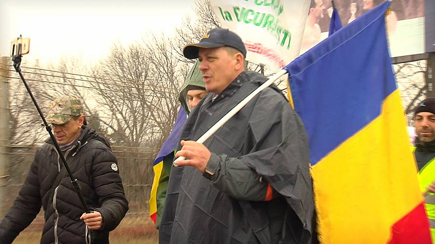 Romanians march for justice