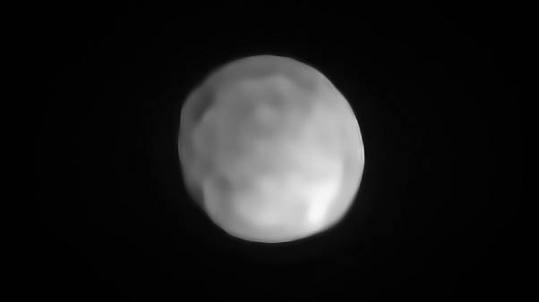 A new SPHERE/VLT image of Hygiea, which could be the Solar System's smalles