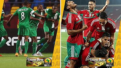 El Kaabi stars as Morocco and Nigeria reach CHAN 2018 final