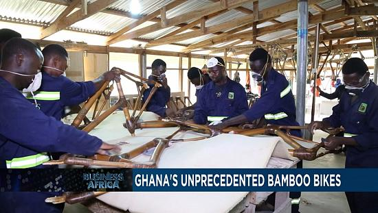 Ghana's unprecedented bamboo bikes [Business Africa]