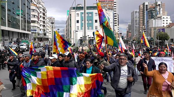 Image: Political And Social Crisis Continue In Bolivia After Evo Morales Le