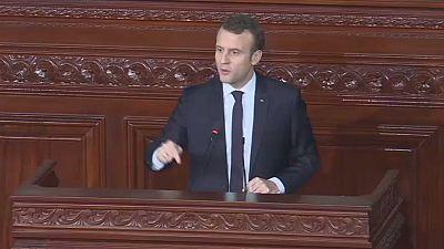 Emmanuel Macron croit encore au printemps arabe