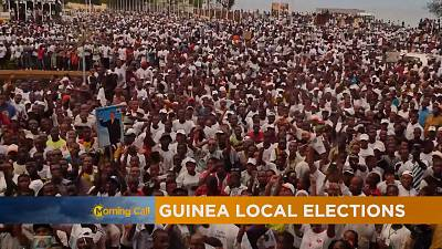 Clashes in Guinea ahead Sunday's local elections
