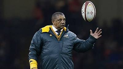 South Africa sacks national Rugby coach
