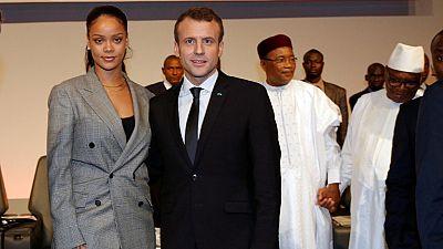 Rihanna tweets at world leaders, seeks $3.1b to fund education