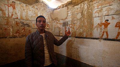 L'Egypte dévoile la tombe d'une prêtresse du temps des pharaons, vieille de 4 400 ans