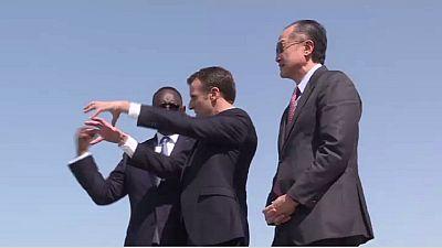 Climat : Macron annonce 15 millions d'euros d'aide pour le Sénégal