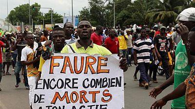 Togo : plusieurs milliers de personnes manifestent contre le pouvoir à Lomé