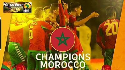 Hosts Morocco win CHAN 2018, whipping Nigeria by four goals
