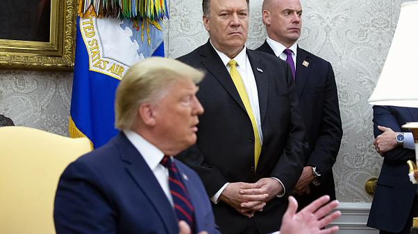 President Trump Hosts Italian President Sergio Mattarella At The White Hous