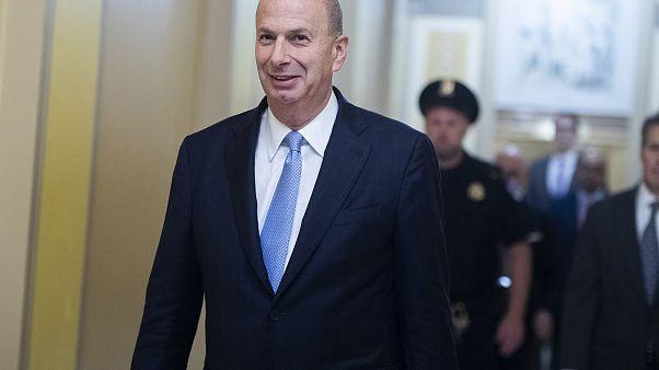 Image: Gordon Sondland, U.S. ambassador to the European Union, arrives to t