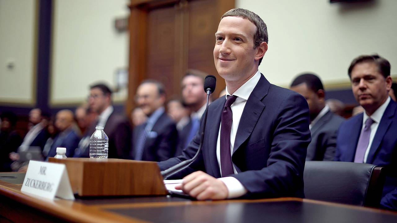 Image: Facebook CEO Mark Zuckerberg Testifies Before The House Financial Se