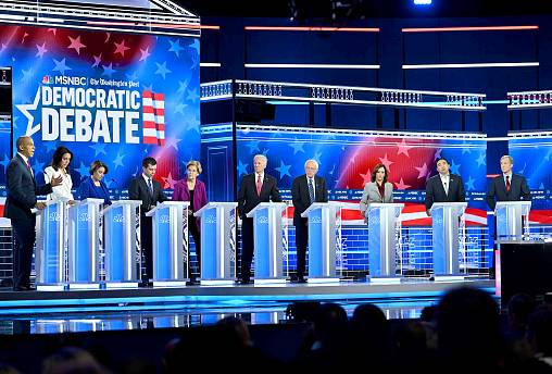 Image: US-POLITICS-VOTE-2020-DEMOCRATS-DEBATE