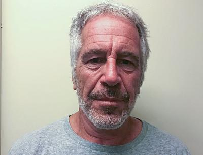 Jeffrey Epstein in a photograph taken for the New York sex offender registry in 2017.