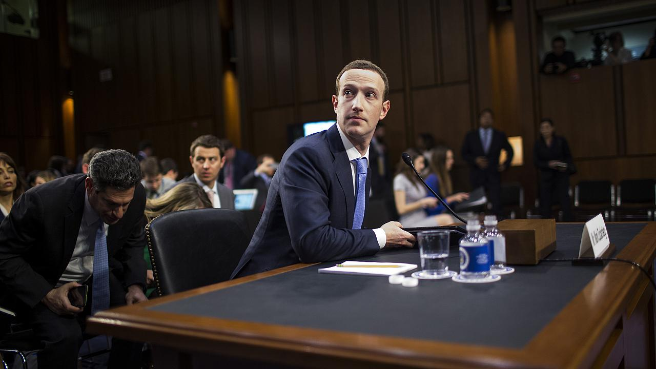 Facebook CEO Mark Zuckerberg Testifies At Joint Senate Commerce/Judiciary H
