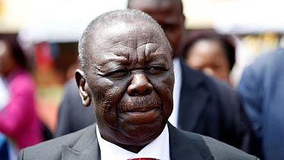 Zimabawe opposition leader Tsvangirai names interim party leader