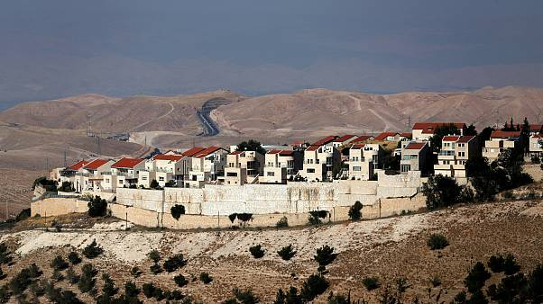 The Israeli settlement of Maale Adumim in the West Bank is appealing to man