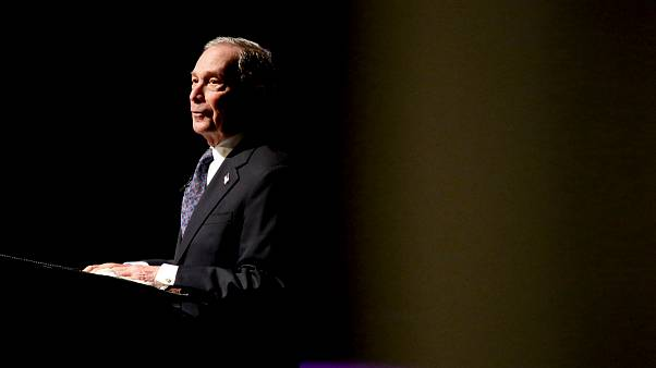 Image: Michael Bloomberg speaks at the Christian Cultural Center in Brookly