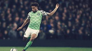 Nigerian World Cup jersey excites fans