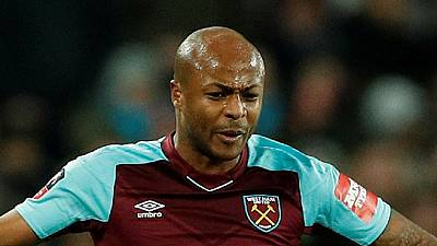 Swansea City's former West Ham United striker Andre Ayew defends African players