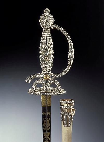 The sword of the diamond rose is another precious artifact stolen during the robbery on Monday.
