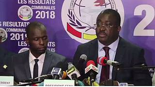 Guinea electoral board releases partial vote result