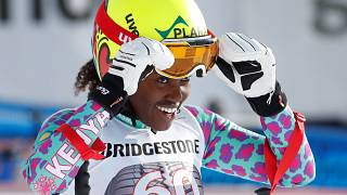 Alpine skiing-Kenyan Simader says living her dream at Pyeongchang Games