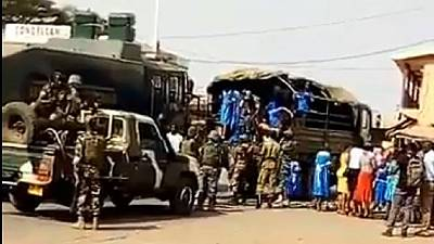 Did Cameroon army bus kids to Youth Day event in Anglophone region?