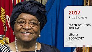 Ellen Johnson Sirleaf remporte le prix Mo Ibrahim 2017