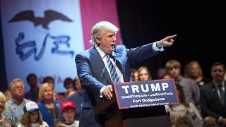 Image: Donald Trump Holds Campaign Rally In Iowa