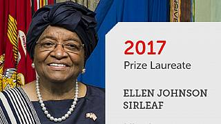 Liberia's ex-president Sirleaf wins $5m African leadership prize