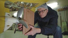 Umweltfreundliche Schiffe: Forscher entwickeln benzinsparende Schiffsschraube