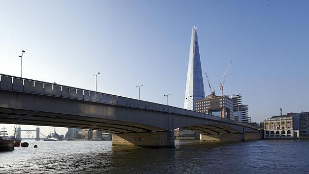 Image: View from North side river bank with London Bridge.