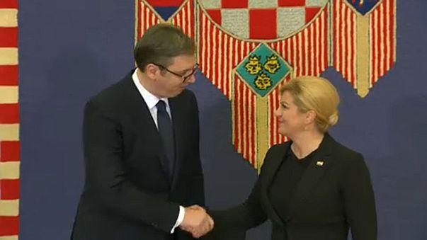 Zágrábi csúcstalálkozó és albán határkérdések a Briefben