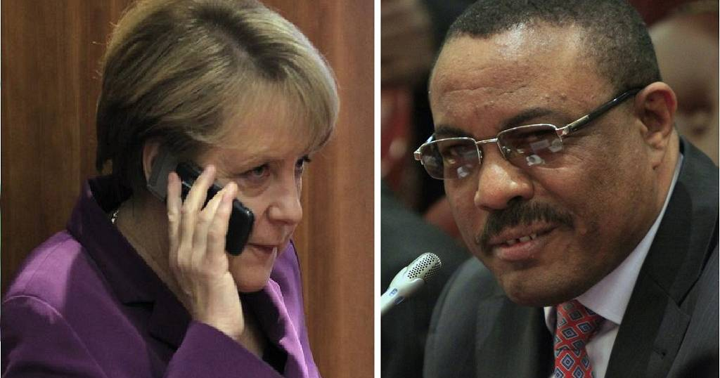German Chancellor tasks Ethiopian PM to widen democratic space