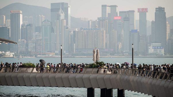 Image: HONG KONG-CHINA-POLITICS-UNREST
