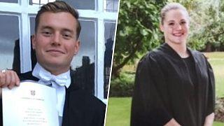 Image: Jack Merritt, 25, and Saskia Jones, 23, were killed in a terrorist a